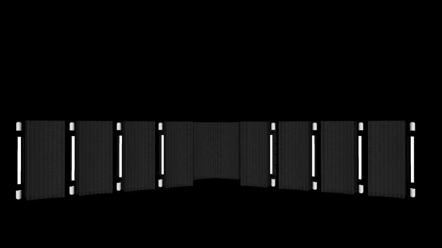 Realistic WWE No Mercy/BreakingPoint/MitB LED Doorways