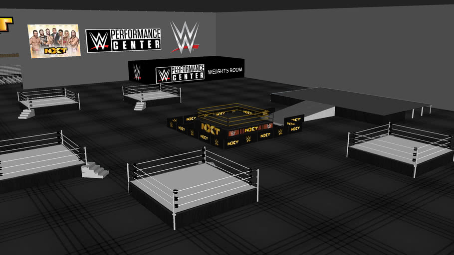 My version of the WWE Performance Centre
