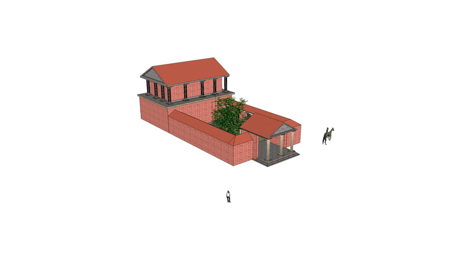 Casa antigua romana