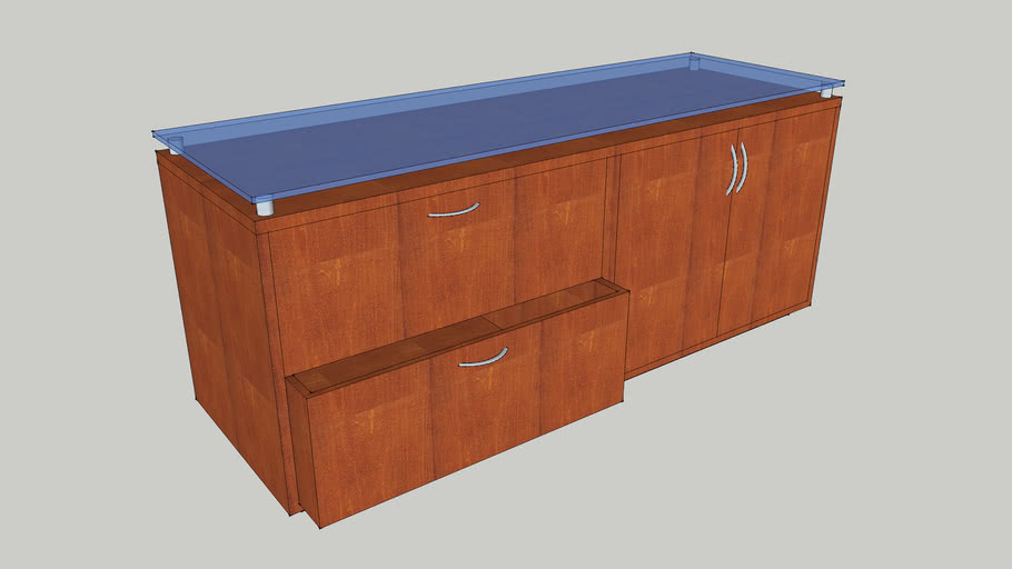 Storage Lateral Combination Credenza