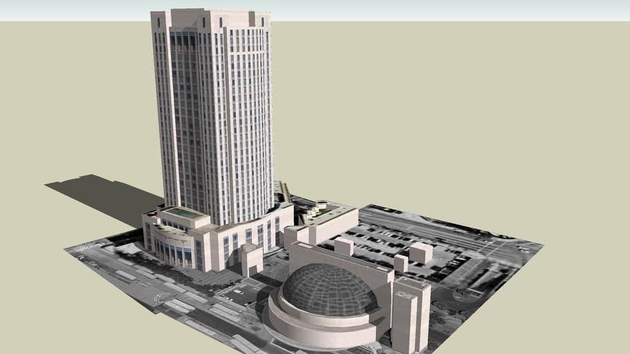 Los Angeles County Metropolitan Transportation Authority Building