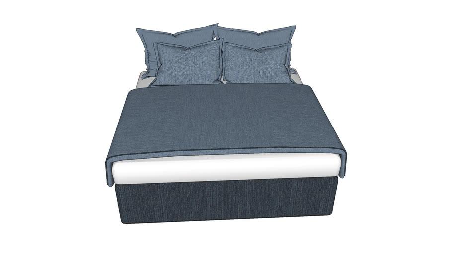 เตียง 6ฟุต ผ้ายีนส์