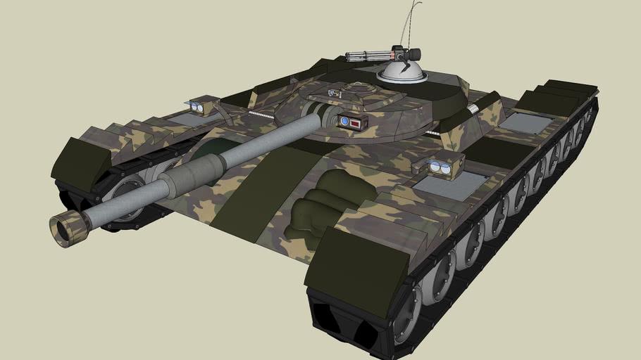 AR43-Grizzly Assault Tank