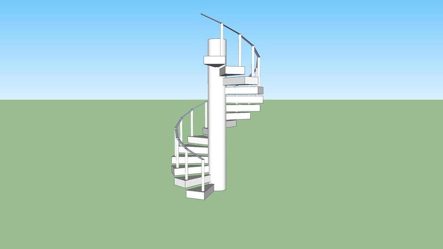 Escada em aspiral
