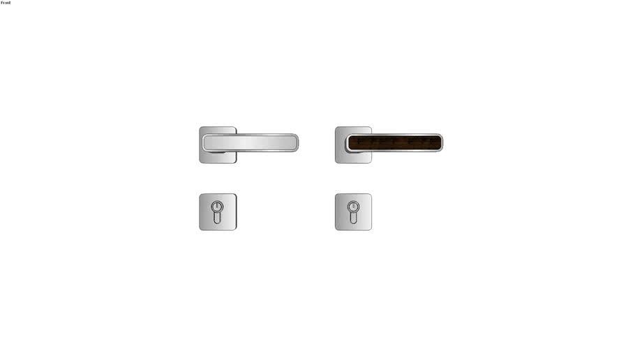 Door Hardware - Frascio 660 Inlay Lever