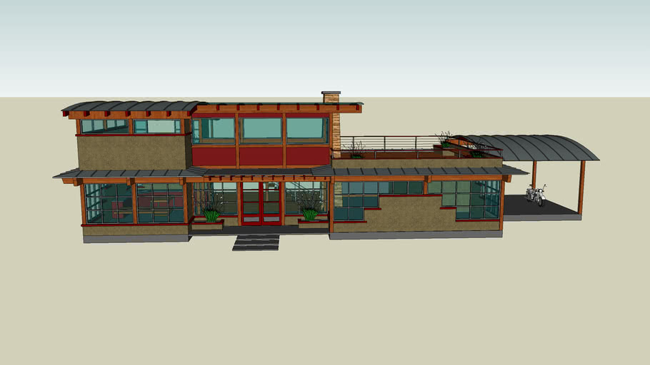 dwell / sketchup design competition: entry 1 by gregg brazel