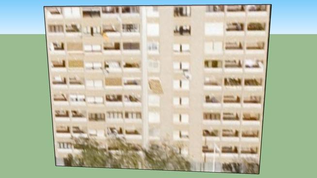 Gebäude in Valencia, Spanien