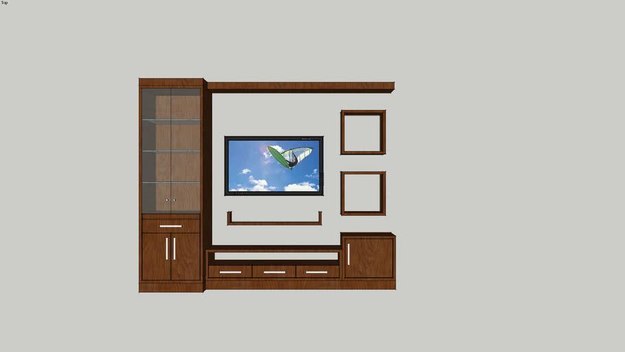 mueble tv y bar