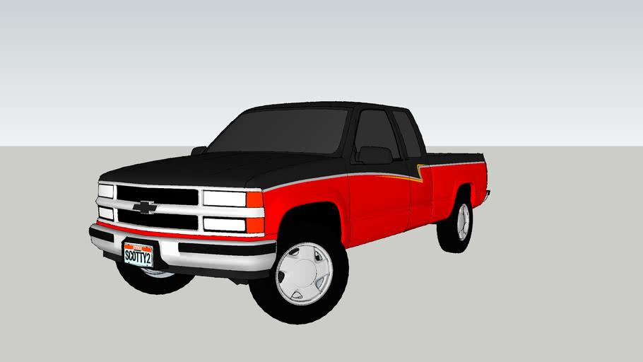 "1993 Chevrolet Silverado ""Scotty's Detailing"""