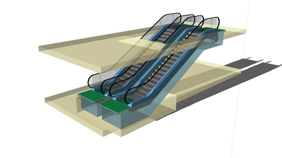 Yürüryen Merdiven Modeli