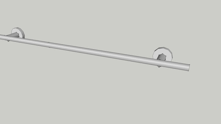 Towel Holder 600mm by HansGrohe 40516000