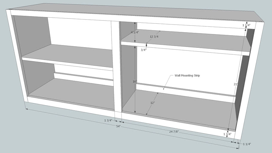 Bookcase Revision 1