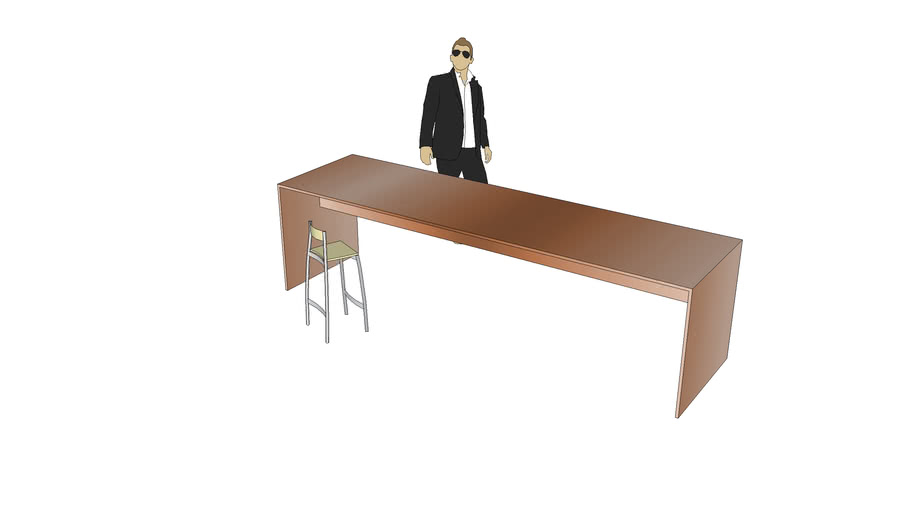 table longue