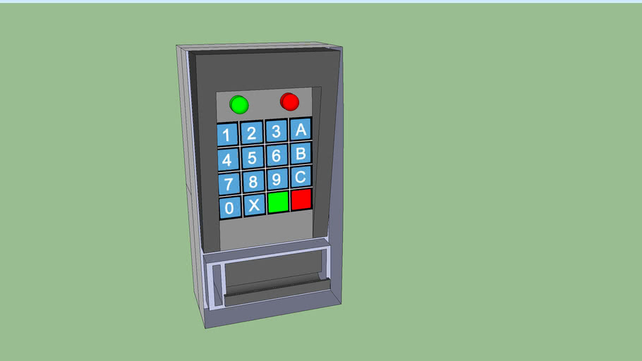 Keypad+Change Dispenser Model