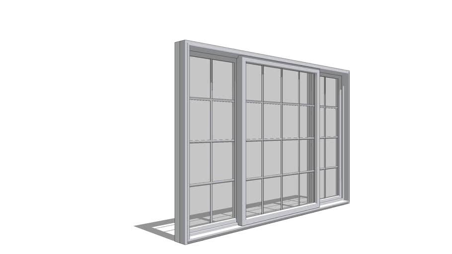 Pella 350 Series Sliding Window - Quarter Vent