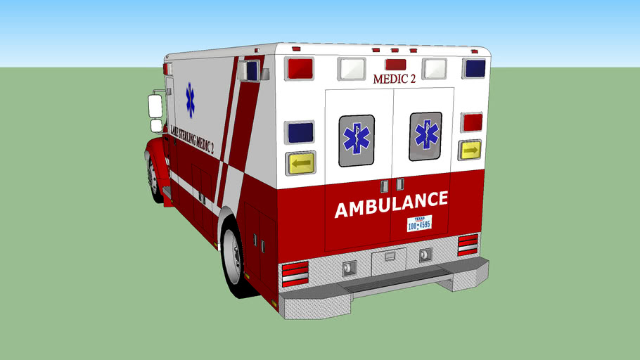 ambulance type 4 intensive care washington