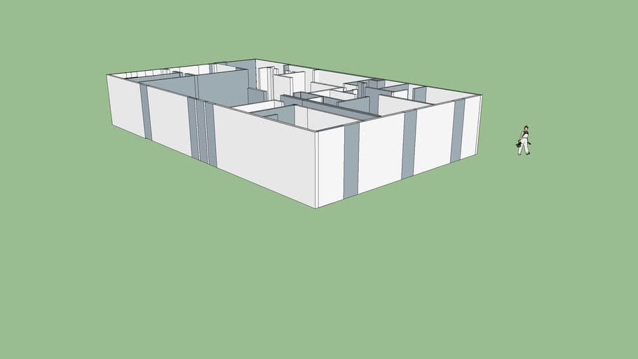 Layout of lifted house
