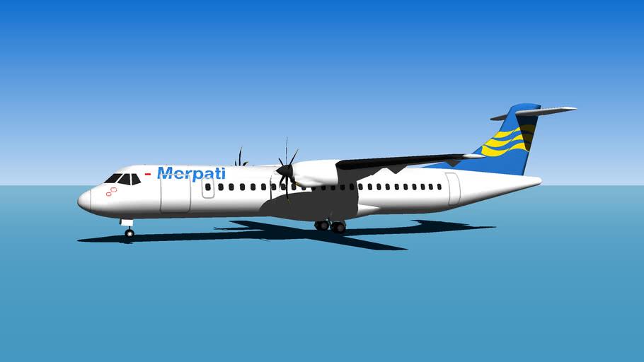 Merpati ATR 72-500