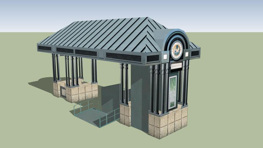 Jefferson Station Trolley Stop
