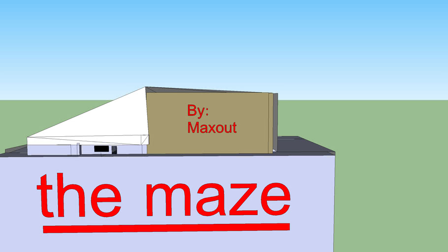 The Maze: read description in order to do this and have fun