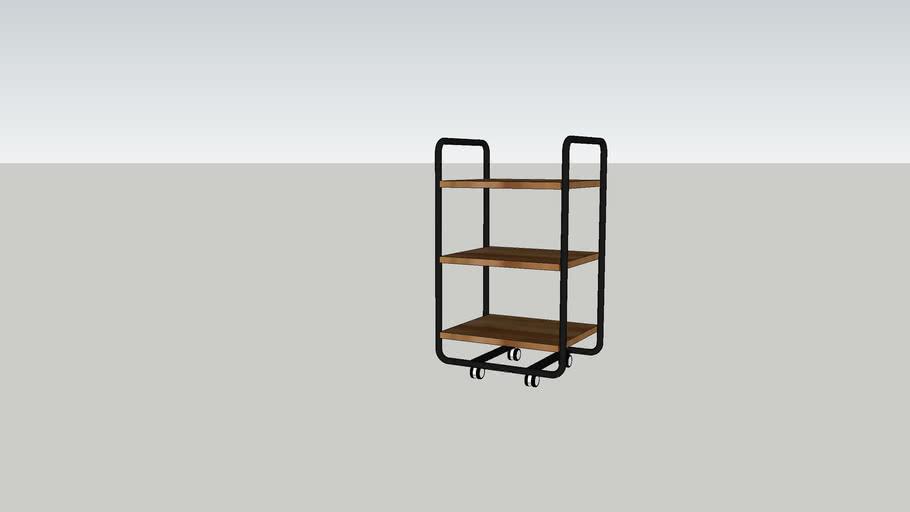 DKW mango trolley rechthoek