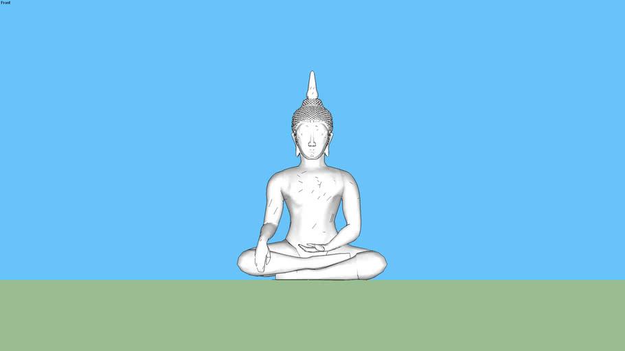 Thai Buddha image model 3D