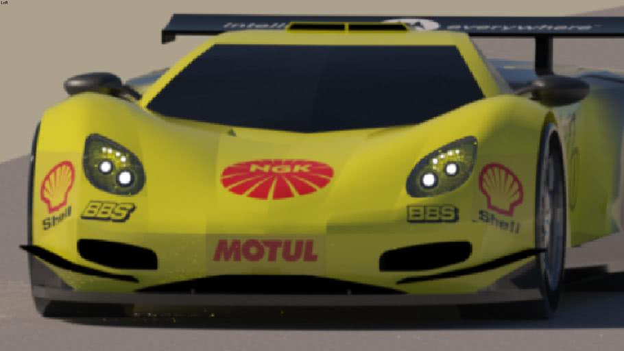 Hillo CZ Racecar