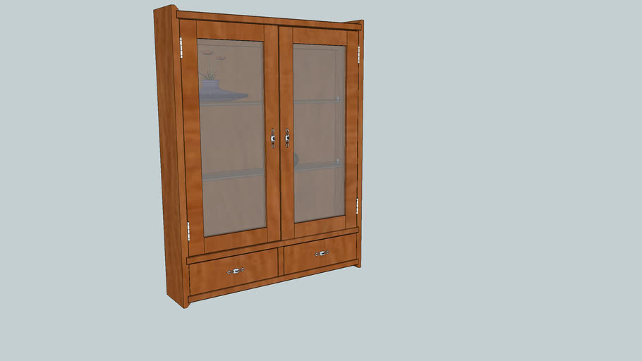 Wall Display Cabinet