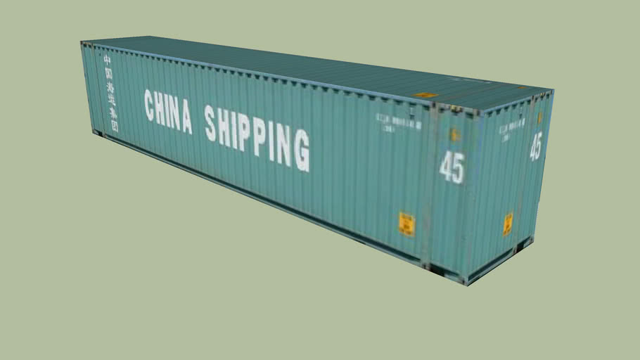 China Shipping Container - 45'