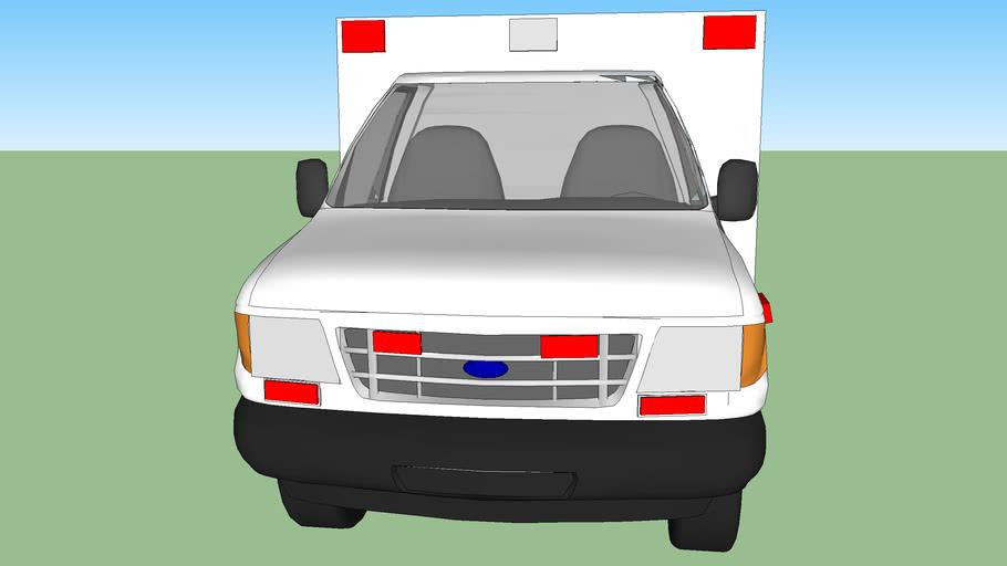 ambulance type lll ford f350 econoline model 2000
