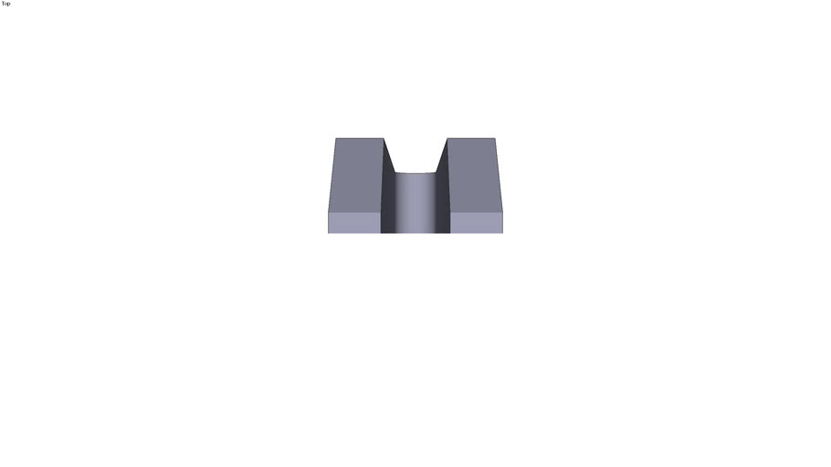 Stepped clamp - 400 x 100 x 60 mm