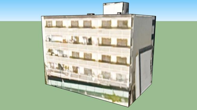 Building in Nagoya, Aichi Prefecture, Japan