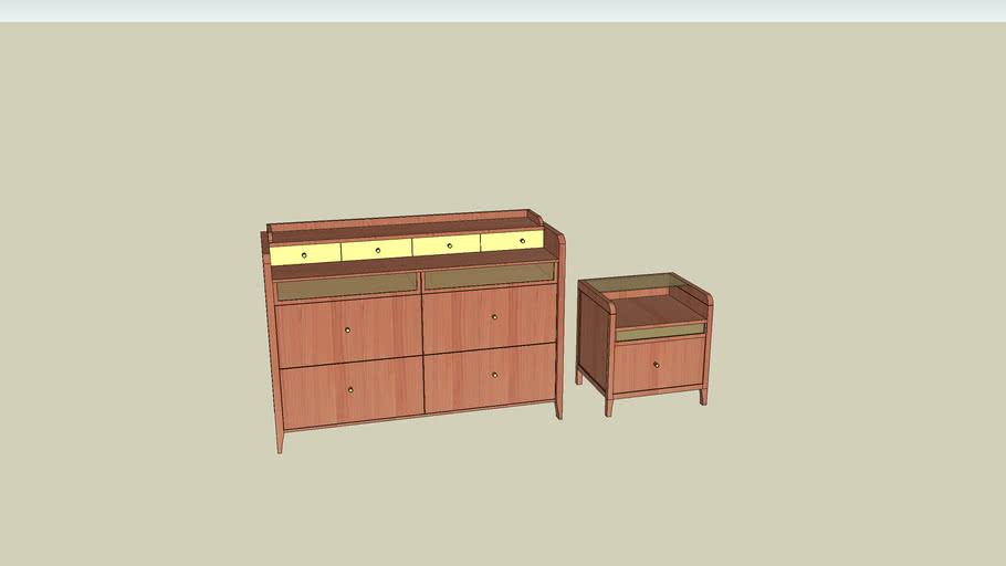 como and nightstand