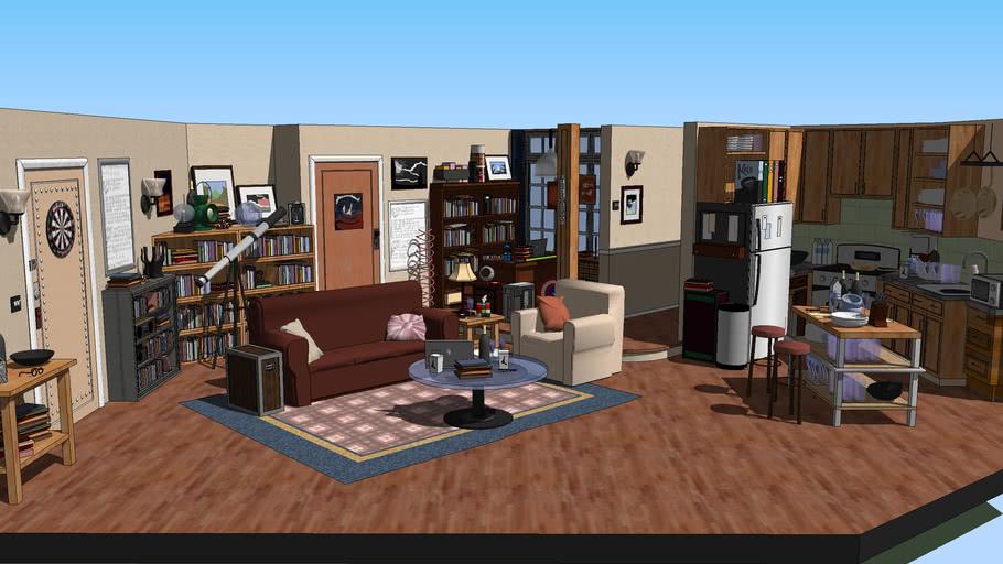 (The Big Bang Theory) - Sheldon & Leonard's Appartment