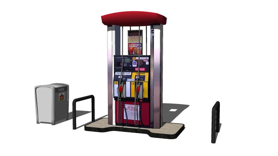 Casey's Updated gas pump