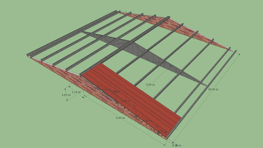 Estructura metalica para  techo