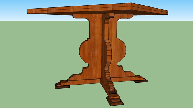 TABLE 100X100X76