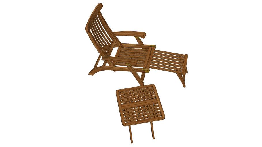 stolica drvena za vrt