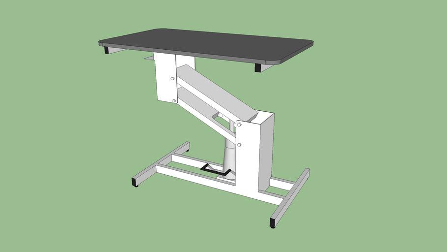 F975WH42 Hydraulic table