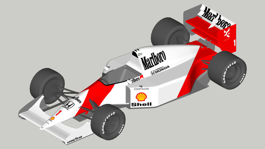 McLaren MP4/7A Honda
