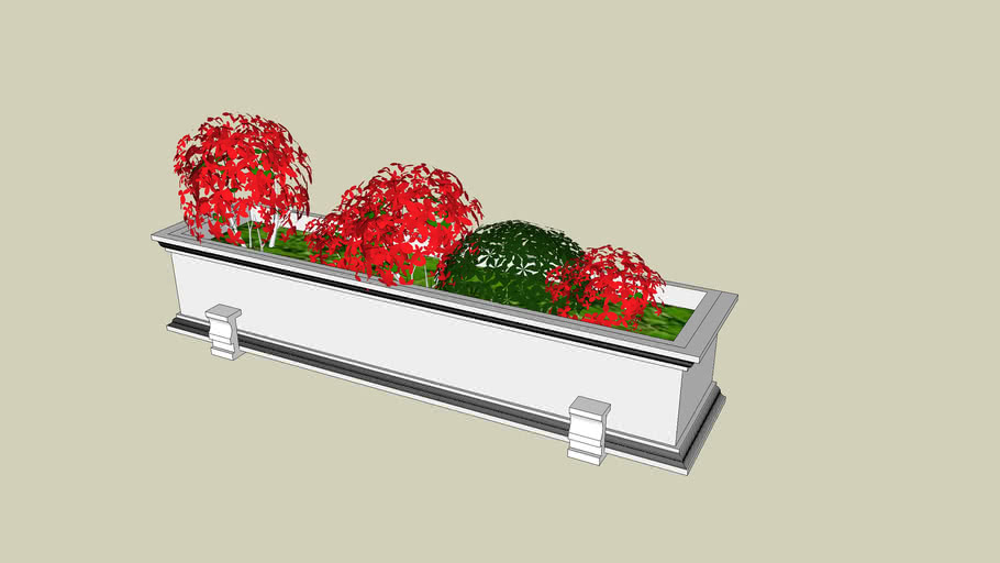 wall mounted flowerbox