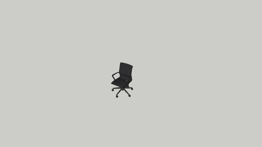 Cadeira executiva tecido alta