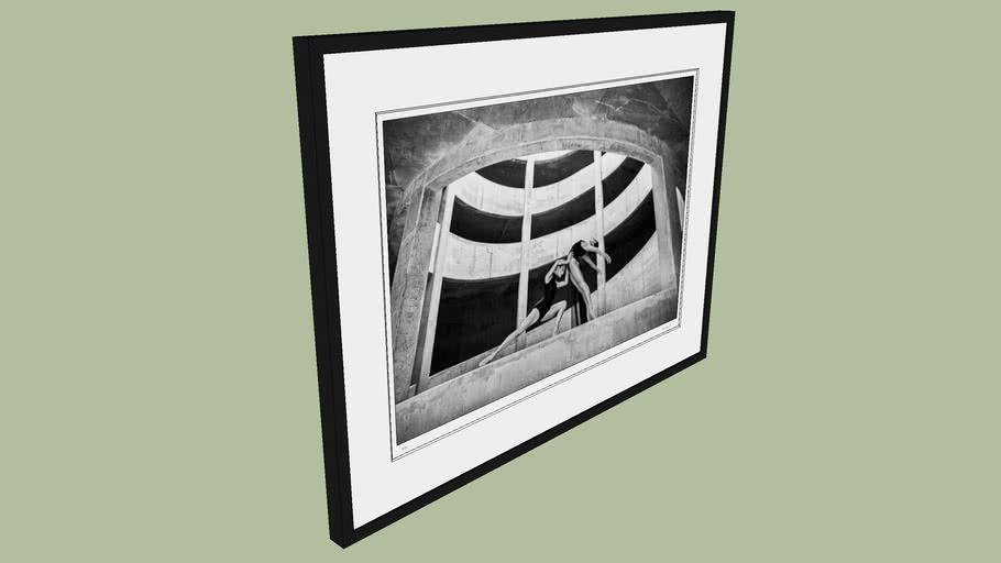"BRODZIAK ""Ballerina #06"" 98x74 cm - Black&White, Photography, Image, Picture"