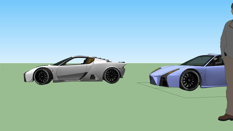 latest fixes to barosso B1 Aero concept car sports