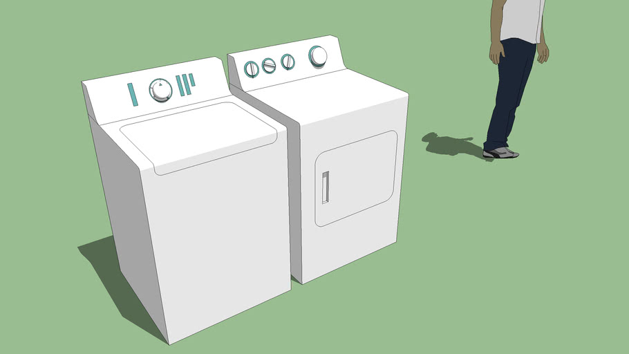 Generic washer and dryer