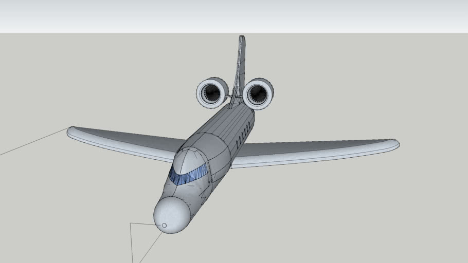 Private Jet Airliner