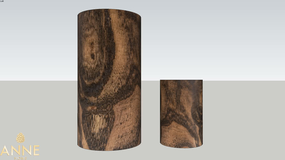 Vaso Tropical Wood