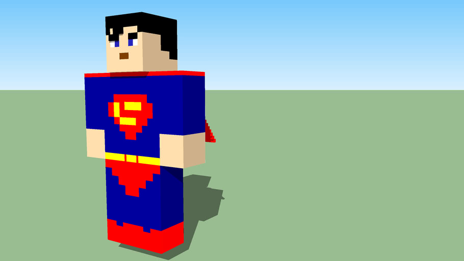 Minecraft Superman