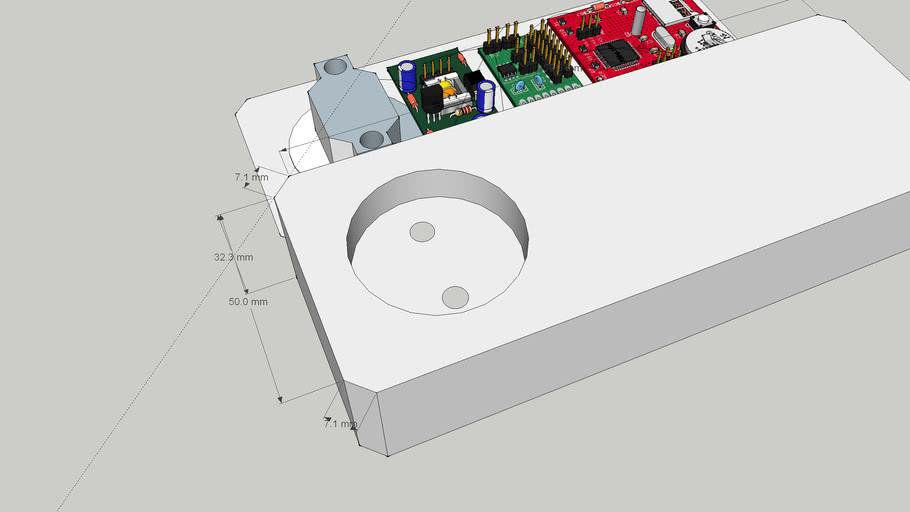 Регистратор потребляемого тока стационарной сети