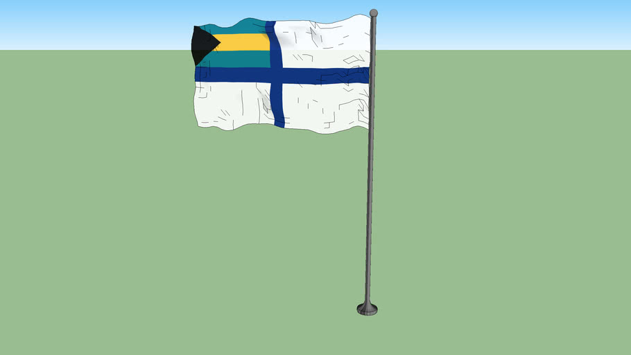 Government ensign of the Bahamas